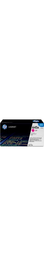 HP 645A Toner Cartridge - Magenta - Laser - 12000 Page - 1 Pack