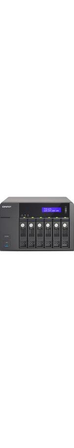 QNAP Turbo vNAS TVS-671 6 x Total Bays NAS Server - Tower - Intel Core i5 i5-4590S Quad-core 4 Core 3 GHz