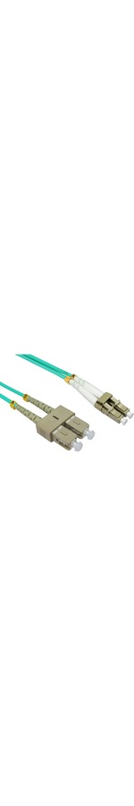 2m Cables Direct Fibre Optic Network Cable OM4  LC - SC