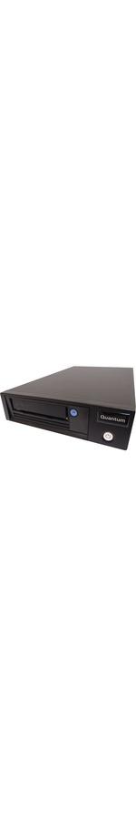 Quantum LTO-7 Tape Drive - 6 TB Native/15 TB Compressed - Black - 6Gb/s SAS - 1/2H Height - External