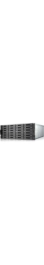 QNAP Turbo NAS TS-EC2480U-E3-4GE-R2 24 x Total Bays SAN/NAS Server - 4U - Rack-mountable - Intel Xeon Quad-core 4 Core - 4 GB RAM DDR3 SDRAM - Serial ATA/600 - RAI