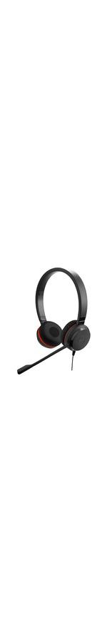 Jabra EVOLVE 30 II Wired Over-the-head Stereo Headset - Supra-aural - Noise Canceling - Mini-phone