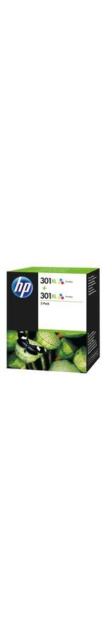 HP 301XL Ink Cartridge 2 Pack - Cyan, Magenta, Yellow