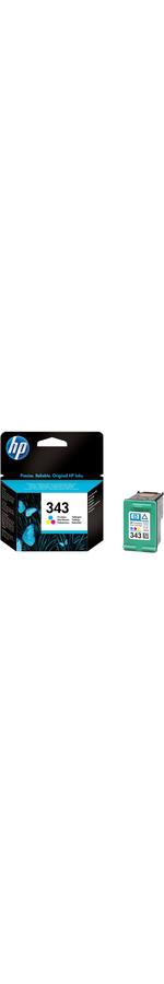 HP 343 Ink Cartridge - Cyan, Magenta, Yellow
