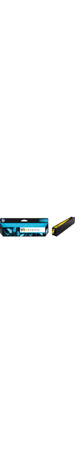 HP 971 Ink Cartridge - Yellow