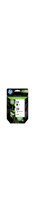 HP No. 21/22 Ink Cartridge - Black