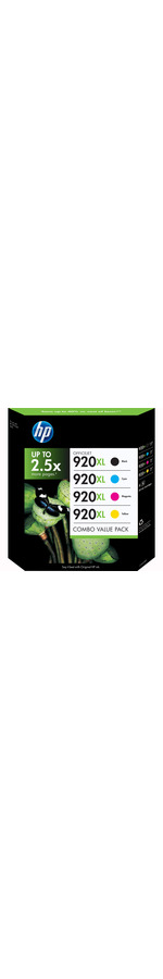 HP 920XL Ink Cartridge - Black, Cyan, Magenta, Yellow