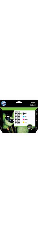 HP 940XL Ink Cartridge - Black, Cyan, Magenta, Yellow