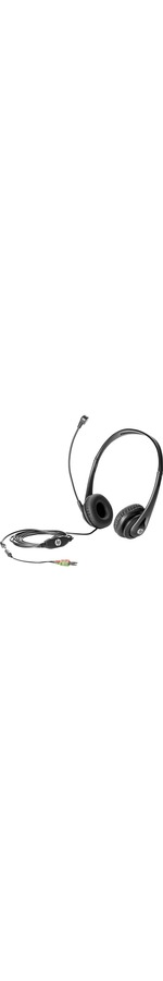 HP Business v2 Wired Over-the-head Stereo Headset - Black