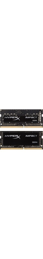 Kingston HyperX Impact RAM Module - 16 GB 2 x 8 GB - DDR4 SDRAM - 2666 MHz DDR4-2666/PC4-21300 - 1.20 V - Non-ECC - Unbuffered - CL15 - 260-pin - SoDIMM