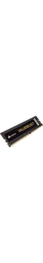Corsair ValueSelect RAM Module - 4 GB 1 x 4 GB - DDR4 SDRAM - 2400 MHz DDR4-2400/PC4-19200 - 1.20 V - Unbuffered - CL16 - 288-pin - DIMM
