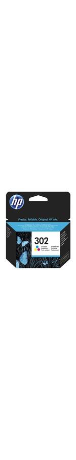 HP 302 Original Ink Cartridge - Tri-colour - Inkjet