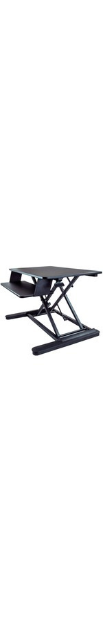 StarTech.com Sit Stand Desk Converter - Large 35in Work Surface - Adjustable Stand up Desk - For Two Monitors up to 24And#34; or One 30And#34; - Work in comfort and enhance prod