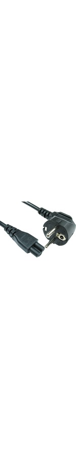 Cables Direct Standard Power Cord - 2 m Length - IEC 60320 C5 - Euro