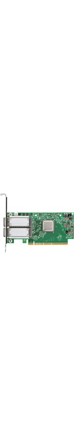 Mellanox ConnectX-5 Infiniband Host Bus Adapter - Plug-in Card - PCI Express 4.0 x16 - 2 x Total Infiniband Ports - QSFP - 100 Gbit/s