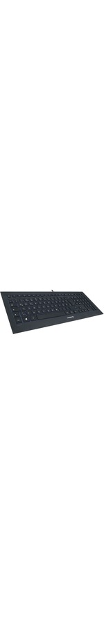 Cherry STRAIT BLACK 3.0 Keyboard - Cable Connectivity - USB Interface - English UK - Black