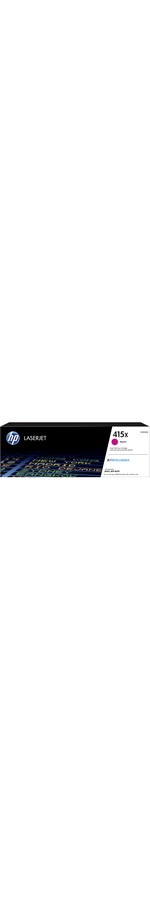 HP 415X Toner Cartridge - Magenta - Laser - High Yield - 6000 Pages