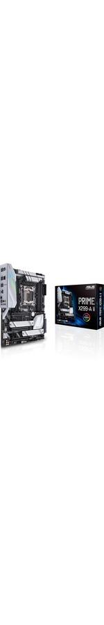 Asus Prime X299-A II Desktop Motherboard - Intel Chipset - Socket R4 LGA-2066 - Intel Optane Memory Ready - ATX - 256 GB DDR4 SDRAM Maximum RAM - UDIMM, DIMM - 8 x M