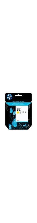 HP No.82 Yellow Ink Cartridge 69mL