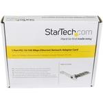 StarTech.com 1 Port PCI 10/100 Mbps Ethernet Network Adapter Card - 1 Port - 10/100Base-TX - Internal