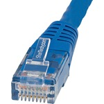 StarTech.com 6 ft Blue Molded Cat6 UTP Patch Cable - ETL Verified - Category 6 - 6 ft