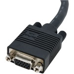 StarTech.com 6 ft Coax High Resolution VGA Monitor Extension Cable - HD15 M/F - Black