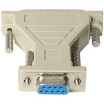 StarTech.com DB9 to DB25 Serial Cable Adapter - F/M - 1 x DB-9 Female Serial - 1 x DB-25 Male
