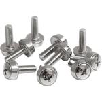 StarTech.com 50 Pkg M5 Mounting Screws for Server Rack Cabinet - 50 / Pack