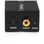 StarTech.com SPDIF Digital Coaxial or Toslink Optical to Stereo RCA Audio Converter - 1 x RCA Female Audio