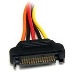StarTech.com 8in 15 pin SATA Power Extension Cable - 8in - SATA - SATA