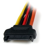 StarTech.com 6in Latching SATA Power Y Splitter Cable Adapter - M/F - 6And#34; - SATA - SATA