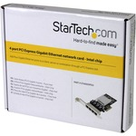 StarTech.com 4 Port PCI Express Gigabit Ethernet Network Card
