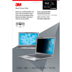 3M Polymer Privacy Screen Filter - 1 - For 39.6 cm 15.6And#34; Widescreen Notebook, Monitor