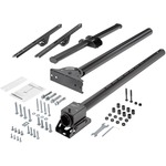 StarTech.com Ceiling TV Mount - 3.5 to 5 Pole - 32 to 75And#34; TVs with a weight capacity of up to 110 lb. 50 kg - Telescopic pole can extend from 42And#34; to 61And#34; 1060 to
