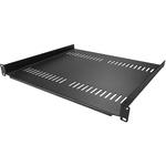 StarTech.com 1U Vented Server Rack Mount Shelf - 16in Deep Steel Universal Cantilever Tray for 19And#34; AV Andamp; Network Equipment Rack - 44lbs CABSHELF116V - Add a sturdy