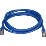 StarTech.com CAT6a Ethernet Cable - 1,8m - Blue Network Cable - Snagless RJ45 Cable - Ethernet Cord - 1,8m / 6 ft - First End: 1 x RJ-45 Male Network - Second End: 1