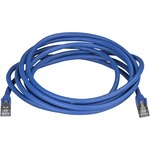 StarTech.com CAT6a Ethernet Cable - 3m - Blue Network Cable - Snagless RJ45 Cable - Ethernet Cord - 3 m 10 ft. - First End: 1 x RJ-45 Male Network - Second End: 1