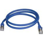 StarTech.com CAT6a Ethernet Cable - 91cm - Blue Network Cable - Snagless RJ45 Cable - Ethernet Cord - 91cm / 91cm 3 ft. - First End: 1 x RJ-45 Male Network - Secon