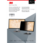 3M Privacy Screen Filter - Black, Matte, Glossy - For 59.9 cm 23.6And#34; Widescreen Monitor - 16:9