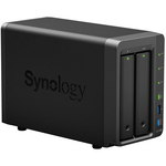 Synology DiskStation DS718plus 2 x Total Bays SAN/NAS Storage System - Desktop - Intel Celeron J3455 Quad-core 4 Core 1.50 GHz - 2 x HDD Supported - 2 x SSD Supported