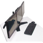 Amer Mounts AMR3S Monitor Stand - Up to 24And#34; Screen Support
