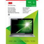 3M Clear, Matte Standard Screen Filter - For 33.8 cm 13.3And#34; LCD Widescreen Notebook