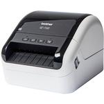 Brother QL-1100 Direct Thermal Printer - Monochrome - Desktop - Label Print - 3 m Print Length - 101.60 mm 4And#34; Print Width - 110 mm/s Mono - 300 x 300 dpi - USB - L