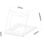 Neomounts by Newstar Neomounts Pro NSLS075BLACK Notebook Stand