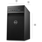 Dell Precision 3000 3630 Workstation - Xeon E-2174G - 16 GB RAM - 512 GB SSD - Tower - Black - Windows 10 Pro 64-bitNVIDIA Quadro P620 2 GB Graphics - DVD-Writer - S