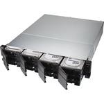 QNAP TS-1283XU-RP-E2124-8G 12 x Total Bays SAN/NAS Storage System - 4 GB Flash Memory Capacity - Intel Xeon Quad-core 4 Core 3.30 GHz - 8 GB RAM - DDR4 SDRAM - 2U