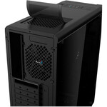 AeroCool Cylon Computer Case - ATX, Micro ATX, Mini ITX Motherboard Supported - Mid-tower - SPCC, Tempered Glass, Acrylonitrile Butadiene Styrene ABS - Black - 5 x