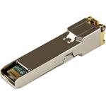 StarTech.com Brocade BRSFP-1GECOPR Compatible SFP Module - 10/100/1000 Copper Transceiver BRSFP-1GECOPR-ST - For Data Networking - Twisted PairGigabit Ethernet - 1