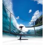Samsung C24T550FDU 23.6And#34; Full HD Curved Screen LED LCD Monitor - 16:9 - Dark Blue Gray