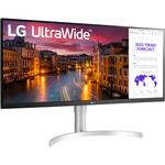 LG Ultrawide 34WN650-W 34And#34; UW-UXGA LED Gaming LCD Monitor - 21:9 - White, Black, Silver